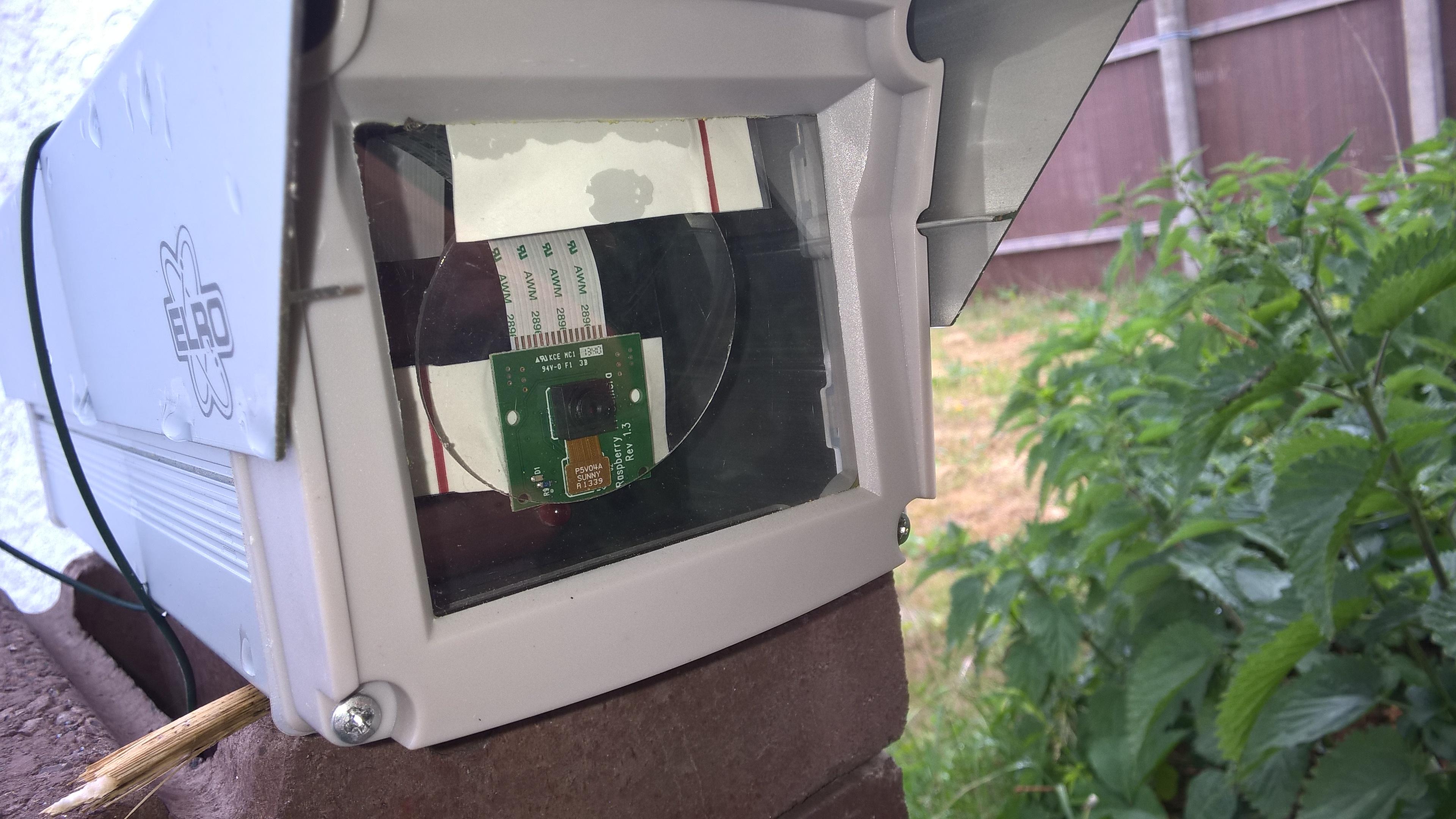 Raspberry Pi als Überwachungskamera