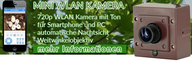 Mini-Wlan-Kamera-Nistkasten-Tierbeobachtung -Weitwinkel - Banner