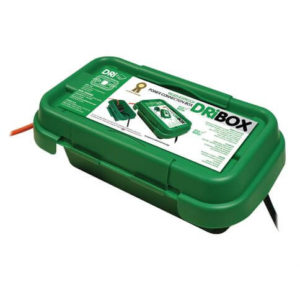 Dribox wetterfeste Box für Stromkabel 1