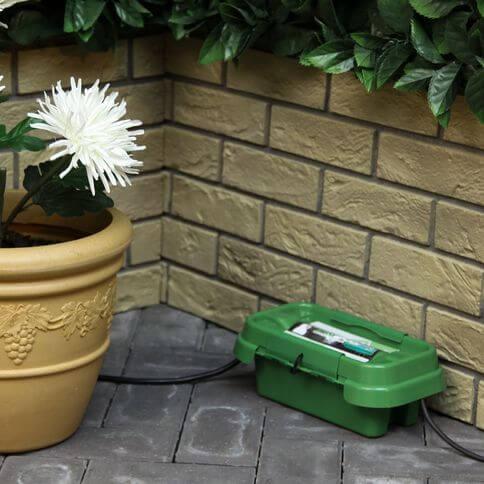 Dribox wetterfeste Box für Stromkabel 2