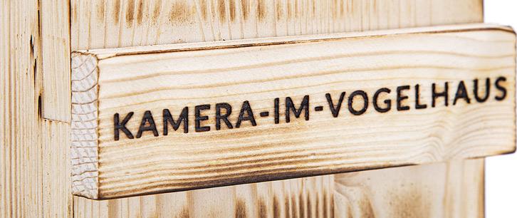 Kamera im Vogelhaus langjährige Erfahrung